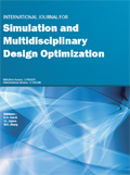 International Journal for Simulation and Multidisciplinary Design Optimization (IJSMDO) Cover page